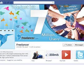 #248 for Design a Banner for Freelancer.com's Facebook Page! by SheryVejdani
