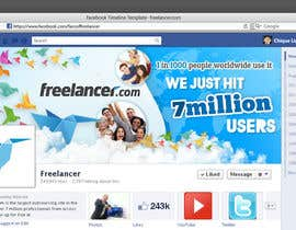 nº 216 pour Design a Banner for Freelancer.com's Facebook Page! par chiqueylim