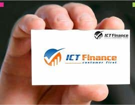 #25 untuk Design a Logo for ICT Finance oleh whitecat26