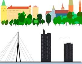 #9 for City panorama cartoon illustration by transupilami