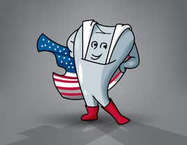 #7 for Tooth with American flag af kunjanpradeep