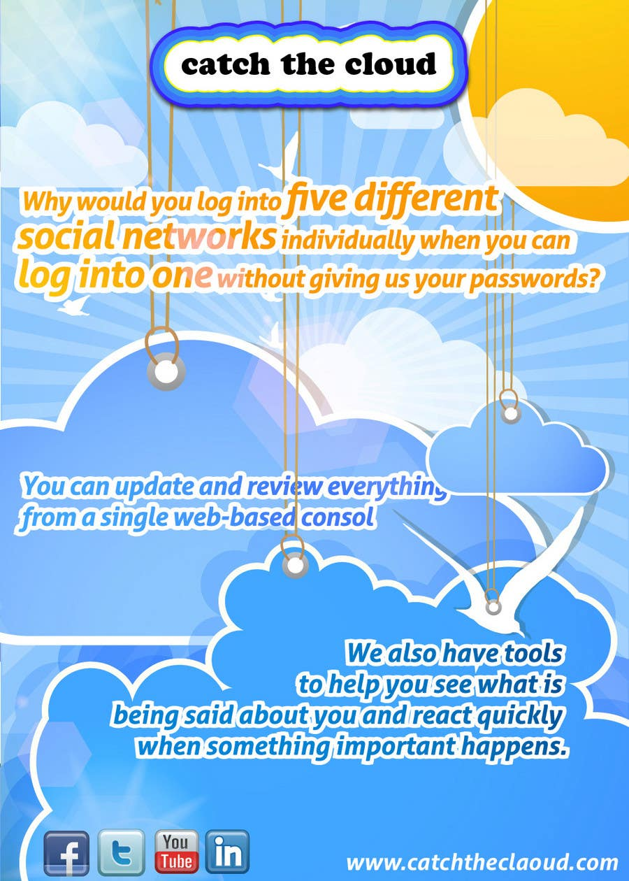 #63 for Full-Page Advertisement Design for Social Networking Website by Macario88