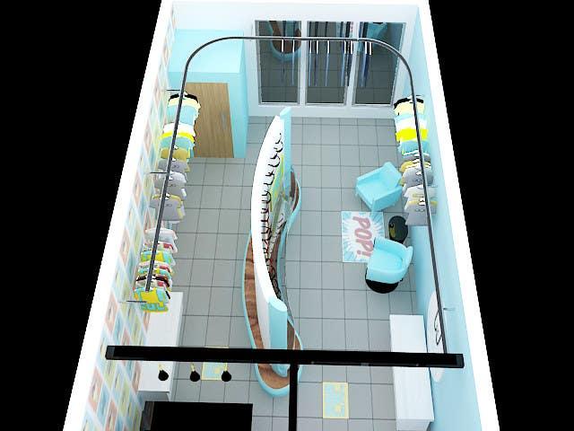 Konkurrenceindlæg #                                        30                                      for                                         Pop-Culture Fashion Shop interior design