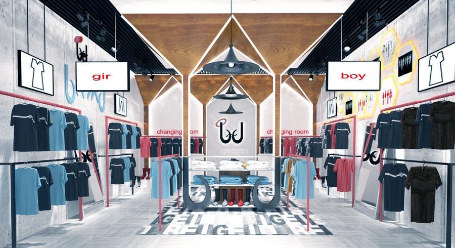 Konkurrenceindlæg #                                        51                                      for                                         Pop-Culture Fashion Shop interior design