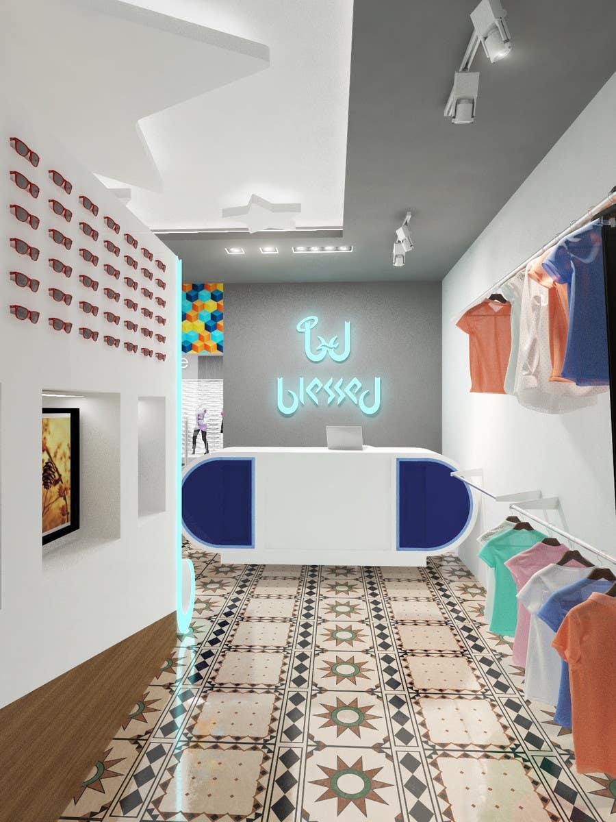 Konkurrenceindlæg #                                        36                                      for                                         Pop-Culture Fashion Shop interior design