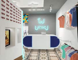 #36 for Pop-Culture Fashion Shop interior design by mvmoris