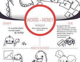 #1 for Design a Flyer for Our Workshop: Words = Money af leviran