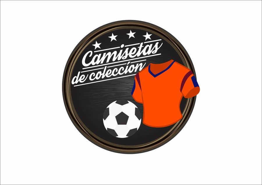 Konkurrenceindlæg #                                        33                                      for                                         Diseñar un logotipo for Tienda Online Camisetas de Futbol Antiguas de Coleccion_