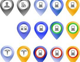 #20 for Improve Icons for map markers af hubbak