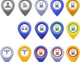#23 for Improve Icons for map markers af hubbak