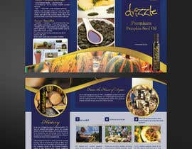 #21 for Flowing brochure for premium, high-end food product. by mirandalengo