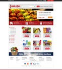 Contest Entry #12 for Design a Website Mockup for ONLINE SUPER MARKET