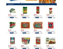 #8 para Design a Website Mockup for ONLINE SUPER MARKET por robertlopezjr