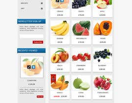 #27 para Design a Website Mockup for ONLINE SUPER MARKET por datagrabbers