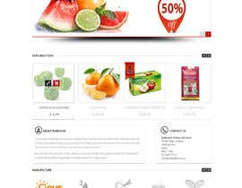 #36 para Design a Website Mockup for ONLINE SUPER MARKET por datagrabbers