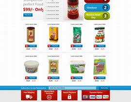 #40 para Design a Website Mockup for ONLINE SUPER MARKET por nitinatom
