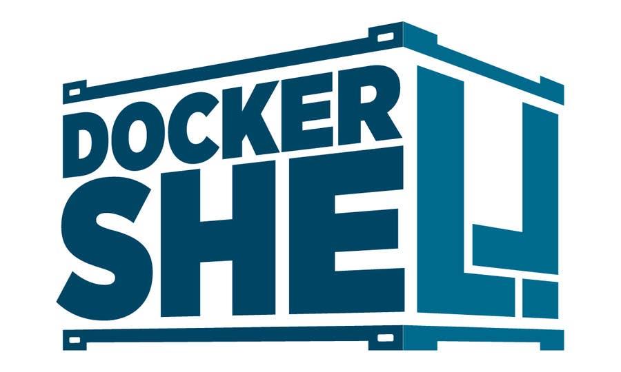 Proposition n°                                        5                                      du concours                                         Design et logo til Docker Shell