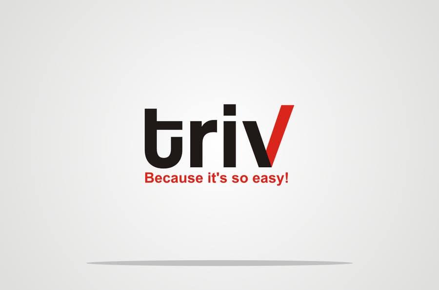 Penyertaan Peraduan #21 untuk Design a logo for triv.ch