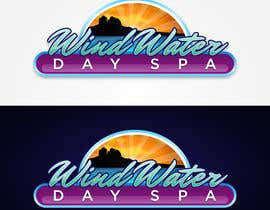 #38 untuk Design a Logo for Wind Water Day Spa oleh wickhead75