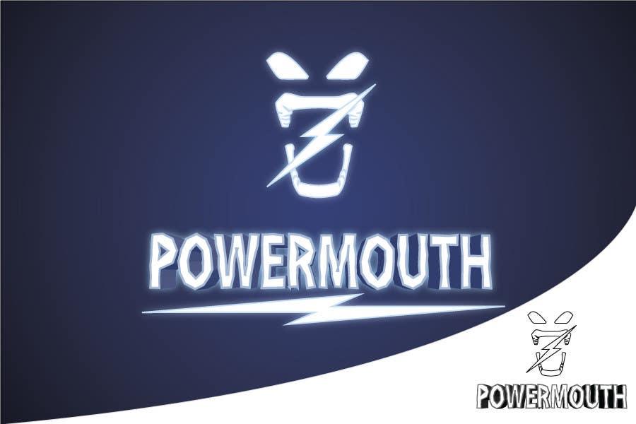 "Bài tham dự cuộc thi #59 cho Logo and Symbol Design for ""POWERMOUTH"", melodic industrial metal band"