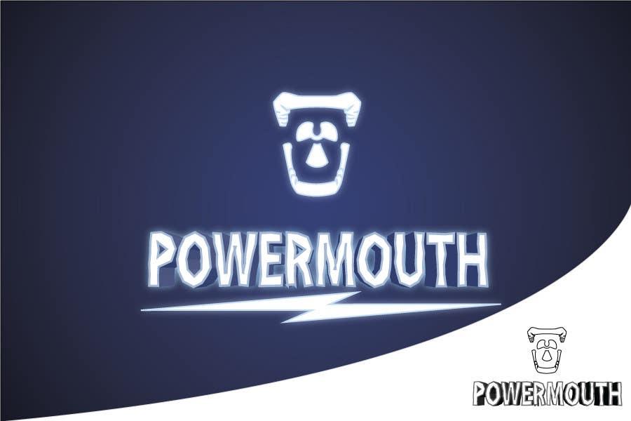 "Bài tham dự cuộc thi #56 cho Logo and Symbol Design for ""POWERMOUTH"", melodic industrial metal band"