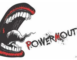 "#50 para Logo and Symbol Design for ""POWERMOUTH"", melodic industrial metal band por zizzi17"