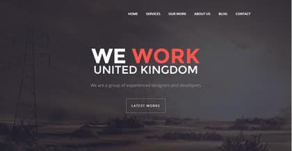 Nro 2 kilpailuun Build a Website for Website/Graphic Design Agency käyttäjältä WeakyRock