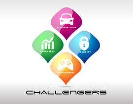 #317 for Design Logos for the Four Verticals of Challengers Event by twindesigner