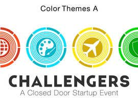 #348 for Design Logos for the Four Verticals of Challengers Event by chanmack