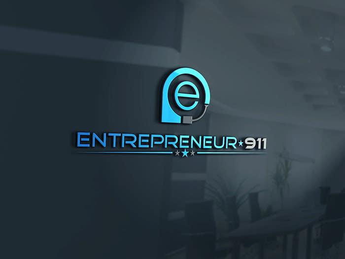 Penyertaan Peraduan #35 untuk Design a Logo for E N T R E P R E N E U R 9 1 1