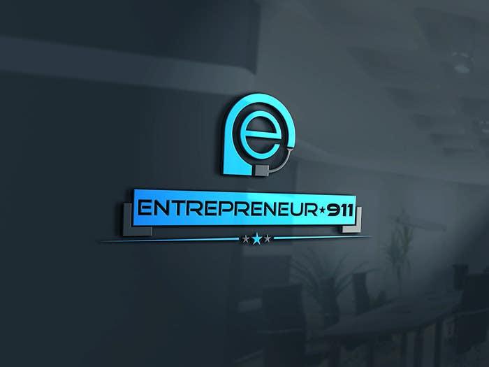 Penyertaan Peraduan #40 untuk Design a Logo for E N T R E P R E N E U R 9 1 1