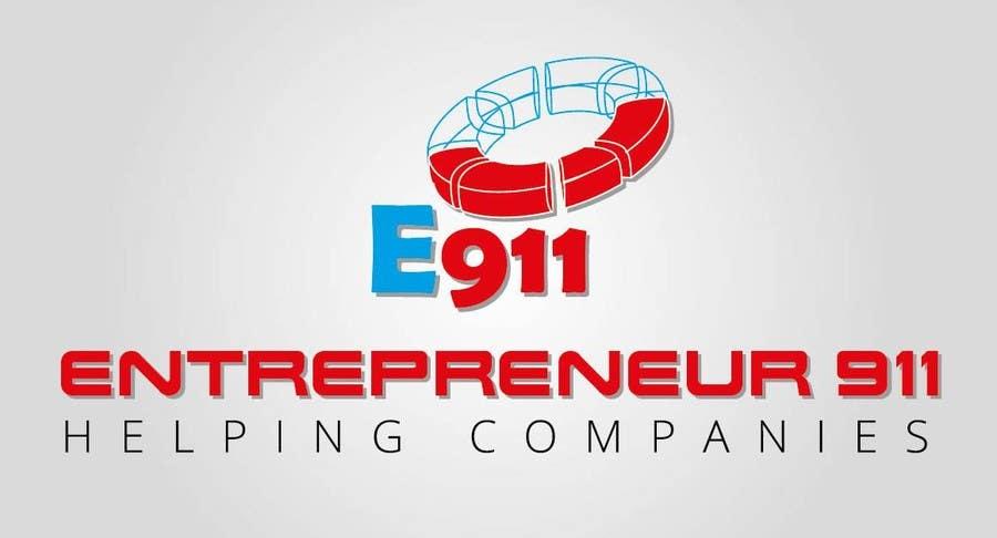 Penyertaan Peraduan #75 untuk Design a Logo for E N T R E P R E N E U R 9 1 1