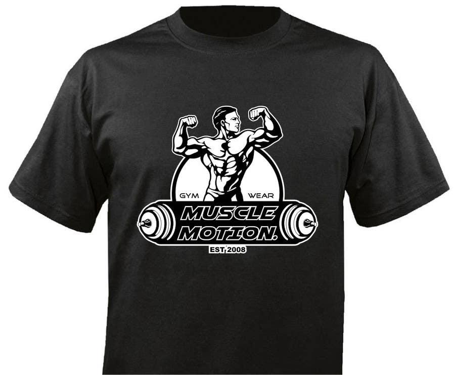 Konkurrenceindlæg #                                        62                                      for                                         Design a T-Shirt for Mens Gym Wear.