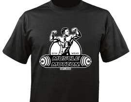 porderanto tarafından Design a T-Shirt for Mens Gym Wear. için no 62