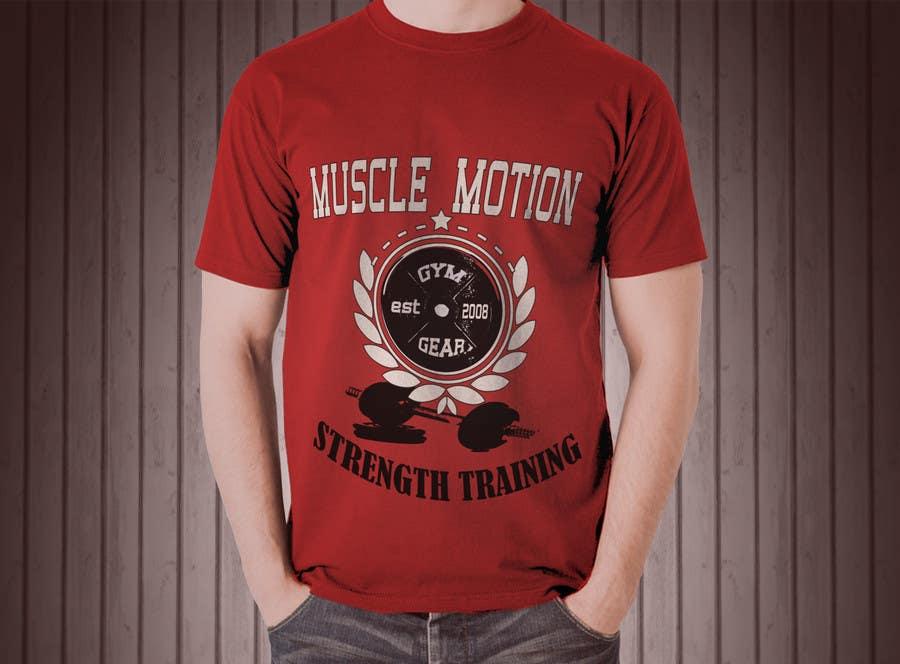 Konkurrenceindlæg #                                        42                                      for                                         Design a T-Shirt for Mens Gym Wear.