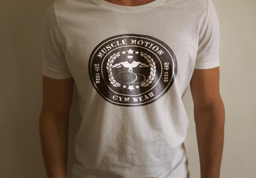 Konkurrenceindlæg #                                        44                                      for                                         Design a T-Shirt for Mens Gym Wear.