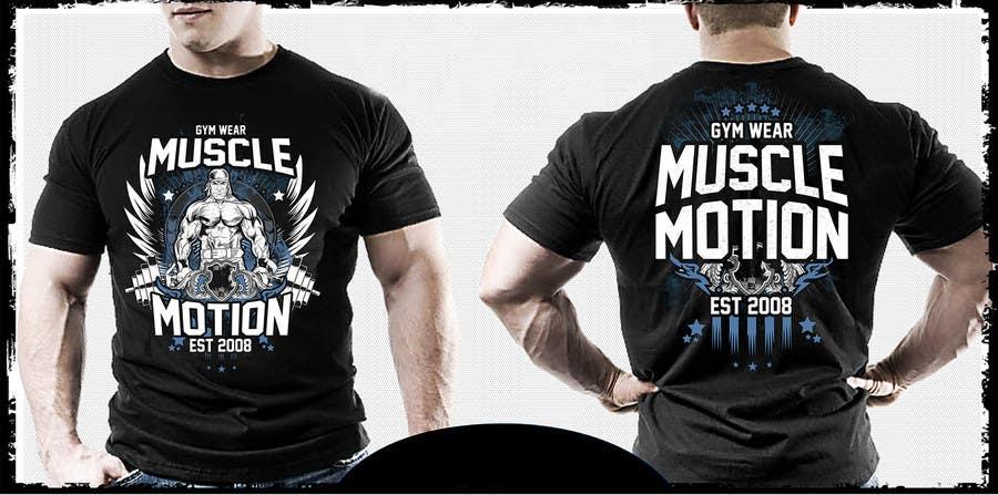 Konkurrenceindlæg #                                        58                                      for                                         Design a T-Shirt for Mens Gym Wear.