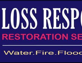 Nro 46 kilpailuun Design a Logo for a business that specialises in restoring properties after an unforeseen event such as a fire or flood käyttäjältä sravankp9