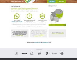 #35 untuk Design a Website Mockup for www.takemyscrapcar.com oleh zlostur