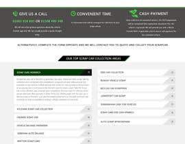 #41 untuk Design a Website Mockup for www.takemyscrapcar.com oleh princevenkat