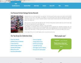 #45 para Design a Website Mockup for www.takemyscrapcar.com por webmastersud
