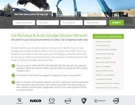 #36 untuk Design a Website Mockup for www.takemyscrapcar.com oleh xrevolation