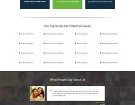 #52 para Design a Website Mockup for www.takemyscrapcar.com por amitpokhriyalchd
