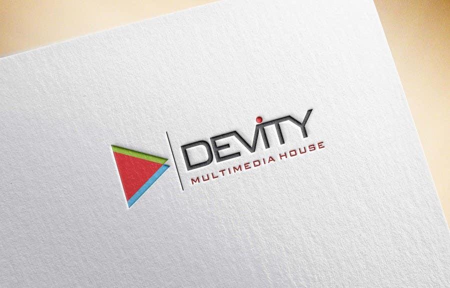 Proposition n°                                        33                                      du concours                                         Logo design for devity multimedia house