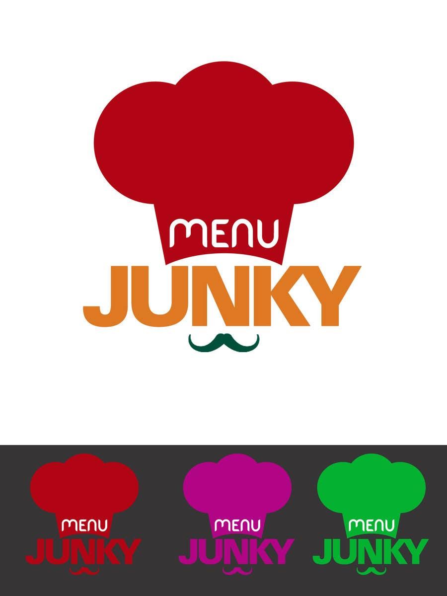 Proposition n°72 du concours Design a Logo for MenuJunky