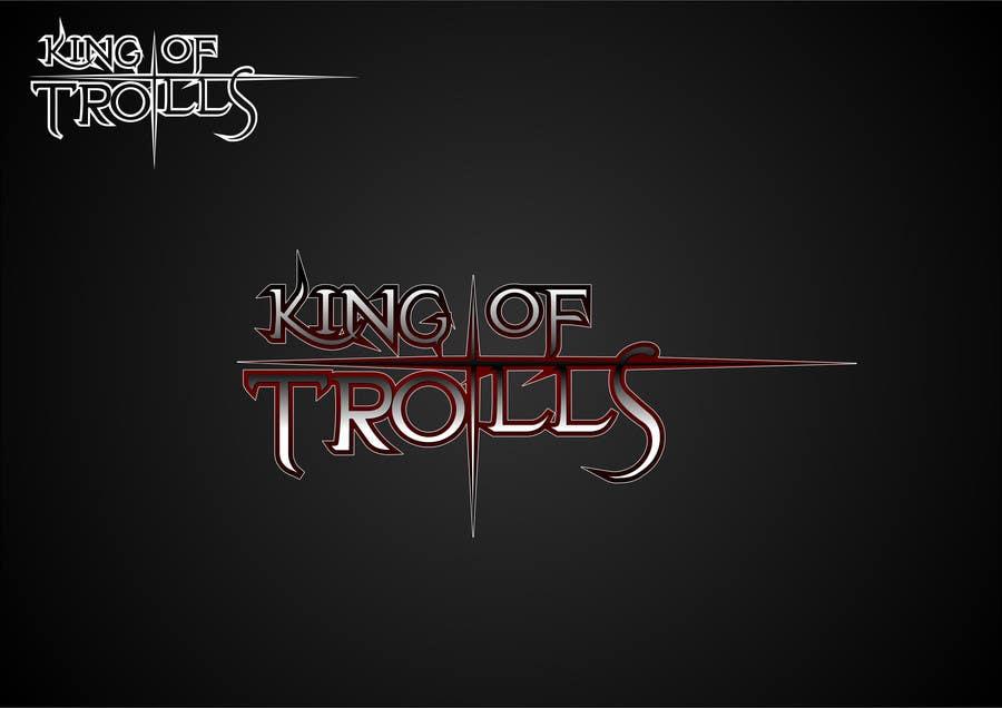 Konkurrenceindlæg #                                        32                                      for                                         Design en logo for the band:  King of Trolls