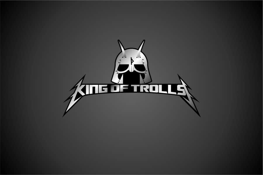 Konkurrenceindlæg #                                        34                                      for                                         Design en logo for the band:  King of Trolls