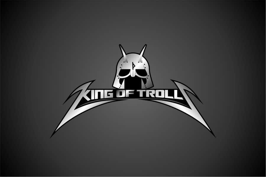 Konkurrenceindlæg #                                        41                                      for                                         Design en logo for the band:  King of Trolls
