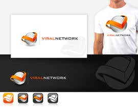 #157 para Logo Design for Viral Network Inc - Banner design, Graphic design, Social Button Design por pinky