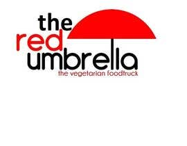 Arm83 tarafından Design a Logo for The Red Umbrella - A Vegetarian Food Truck için no 60